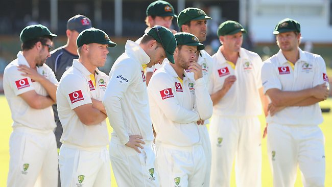 Perhaps the Worst Australian Cricket Team in India
