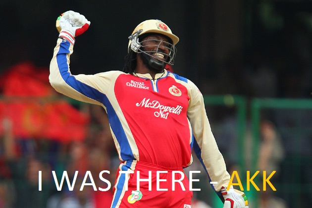 I was there…. when Gayle Hammered 175