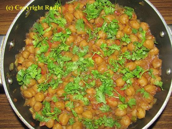 Recipe : Chole / Chana Masala