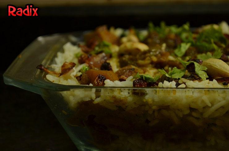 Recipe : Vegetable Dum Biryani