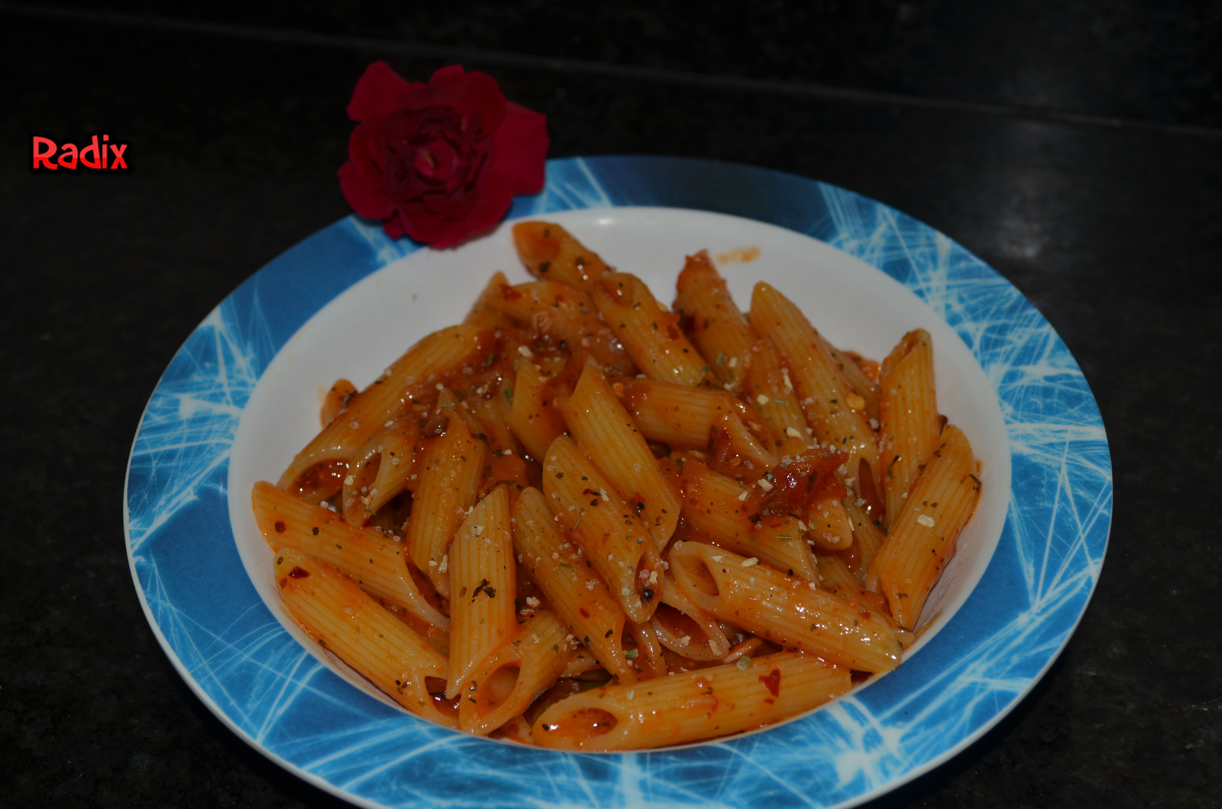Recipe : Penne Arrabiata Pasta