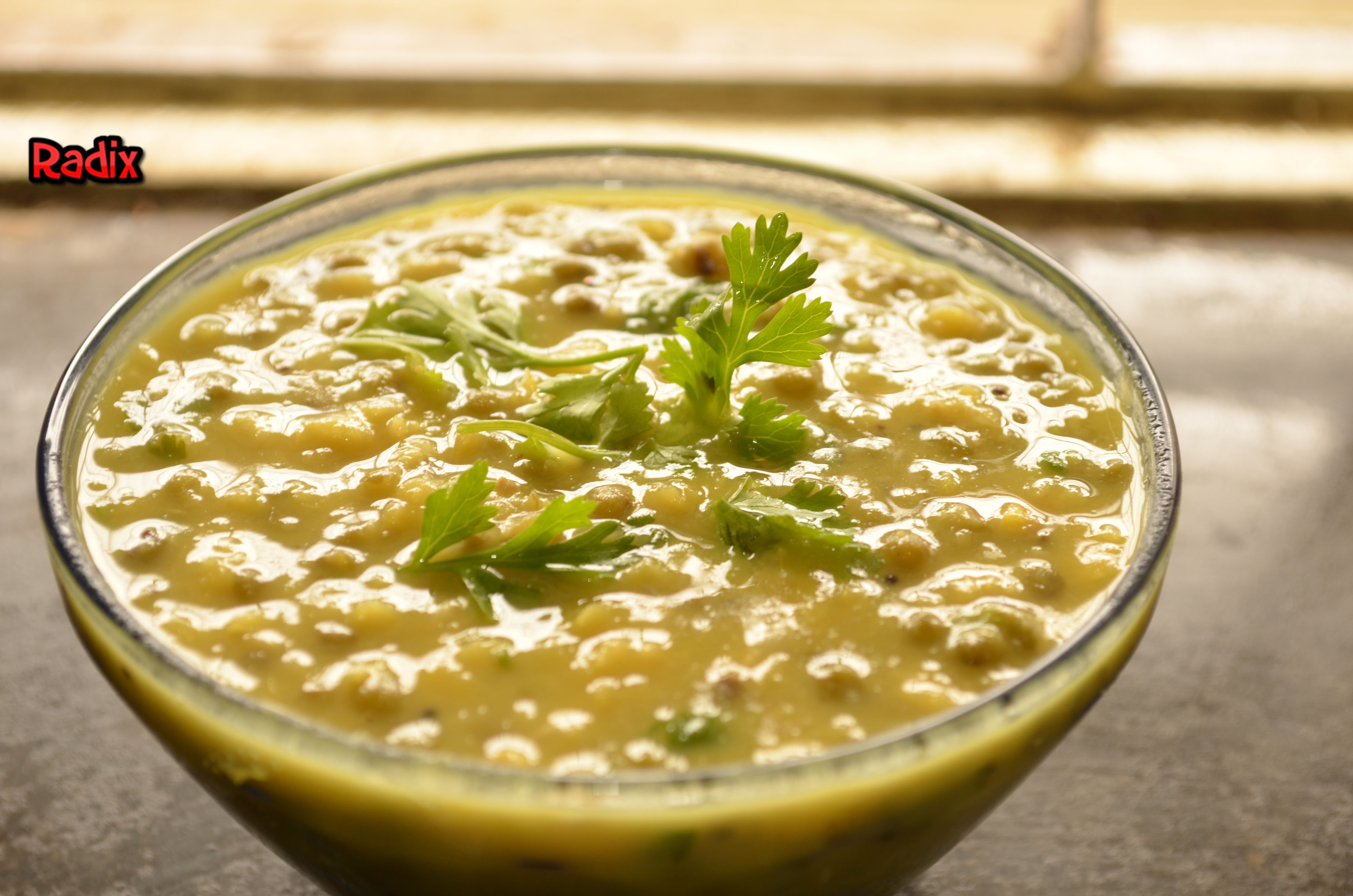 Recipe : Moong Dal Curry