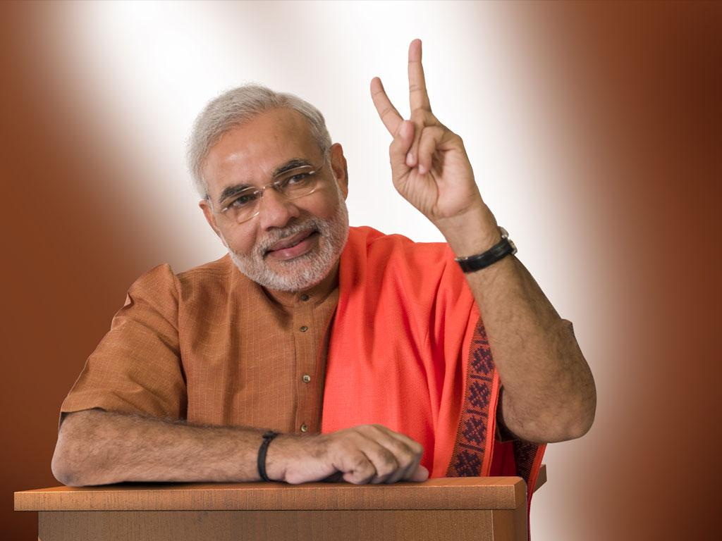 'Modi for PM' – New Slogan for Run to Elections 2014