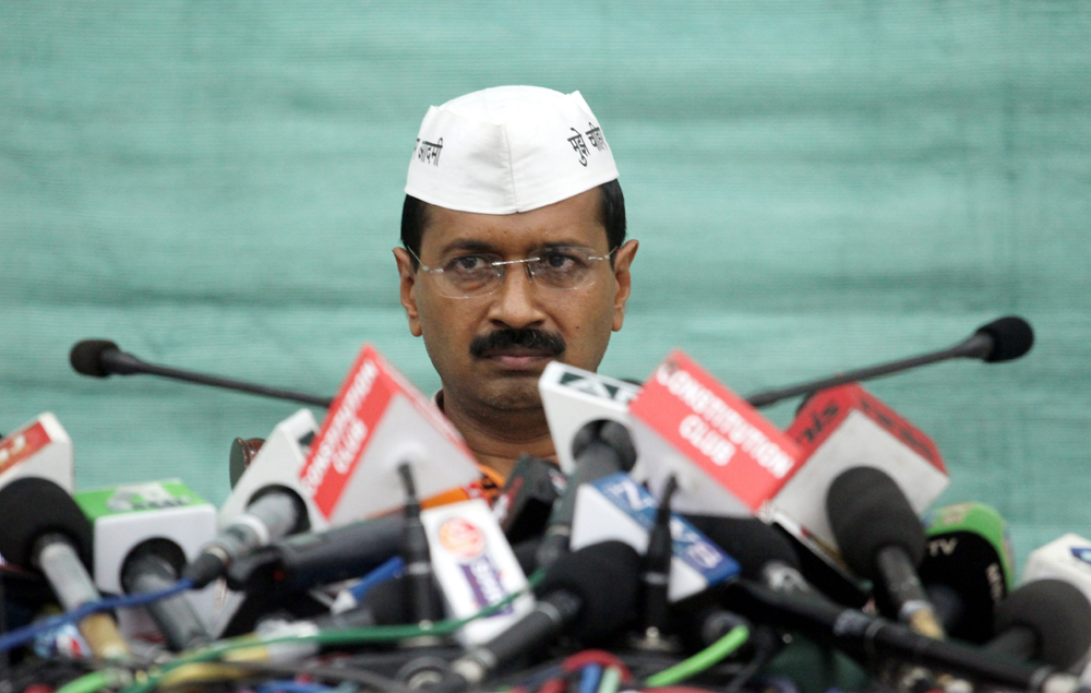 Kejrival, the Man who Claims to be above Humanly Afflications Names Most 'Corrupt' Politicians