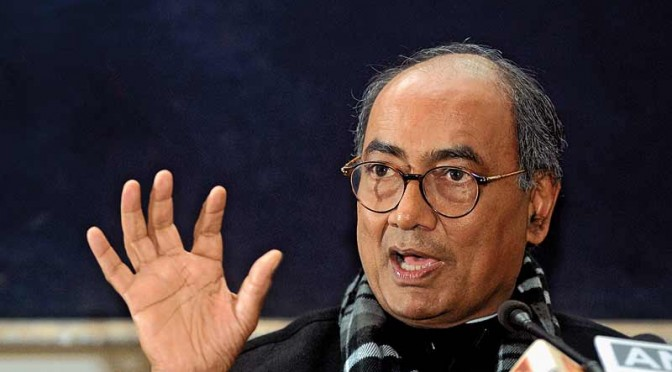Digvijaya Blames Congress' Failure on its Marketing Campaign